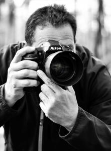 Hochzeitsfotograf Michael Bley in Bremen und Niedersachsen bei der Arbeit